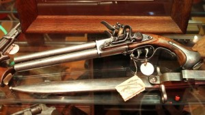 Flintlock pistool